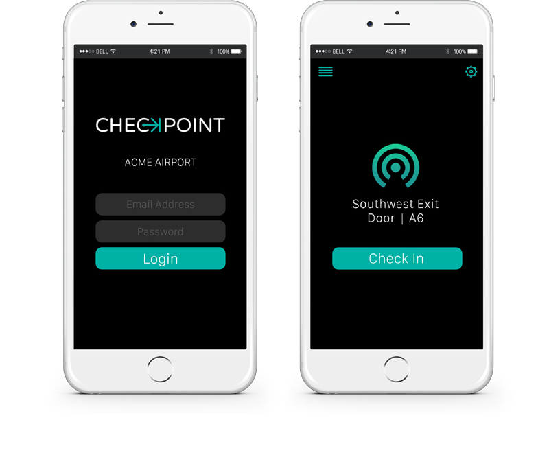 CheckPoint iPhone App
