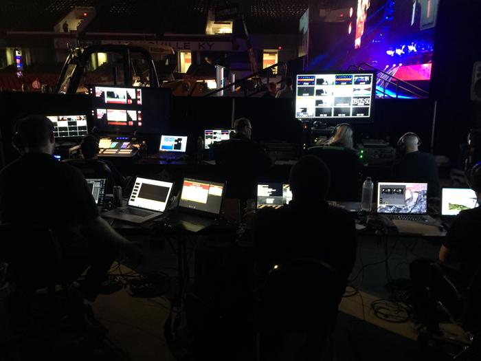Skills USA Video Production Booth